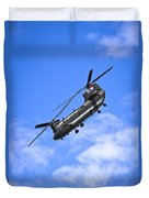 Chinook Helicopter Duvet Cover