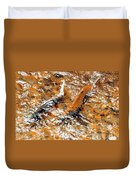 Chinook In Cottage Lake Creek Duvet Cover