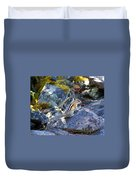 Chipmunk On The Rocks Duvet Cover