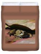 Chiricahua Leopard Frog Duvet Cover
