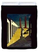 Chirico: Enigma, 1914 Duvet Cover
