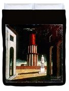 Chirico: Grand Tour, 1914 Duvet Cover