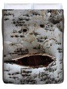 Chirpy Birch Duvet Cover