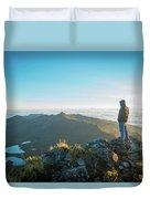 Chirripo National Park Duvet Cover