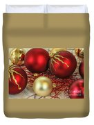 Chirstmas Ornaments Duvet Cover