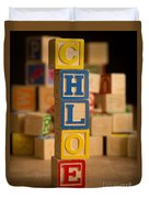 Chloe - Alphabet Blocks Duvet Cover