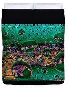 Chloroplasts Duvet Cover