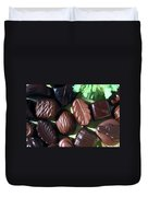 Chocolate Candy Duvet Cover