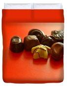Chocolate Delight Duvet Cover