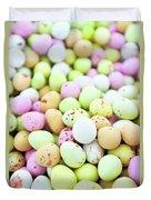 Chocolate Eggs Duvet Cover