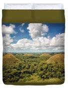 Chocolate Hills Duvet Cover