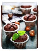 Chocolate Muffins Duvet Cover