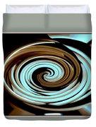 Chocolate Swirls Duvet Cover