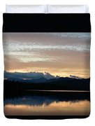 Chocorua At Sunset 2 Duvet Cover