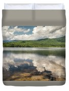 Chocorua Lake Reflections Duvet Cover