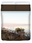 Choctawhatchee Bay Sunset Duvet Cover