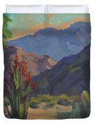 Cholla At Smoketree Ranch Duvet Cover