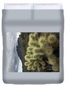 Cholla Cactus Duvet Cover