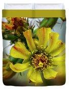 Cholla Flower H1848 Duvet Cover