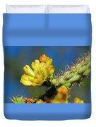 Cholla Flower H40 Duvet Cover