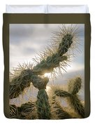Cholla, Organ Pipe National Monument, Az  January 2015 Duvet Cover
