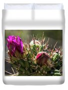 Cholla With Wasp Duvet Cover