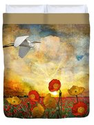 Choose To Fly Duvet Cover
