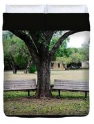Choose Your Bench Duvet Cover