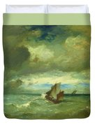 Choppy Sea 1870 Duvet Cover