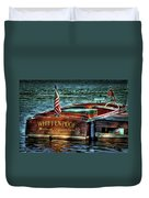 Chris Craft Continental - 1958 Duvet Cover