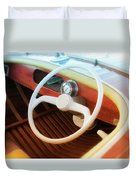 Chris Craft Dreaming Duvet Cover