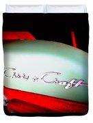 Chris Craft Illusion Duvet Cover