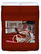 Chris Craft Sea Skiff Duvet Cover