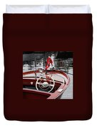 Chris Craft Sportsman Duvet Cover