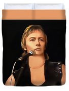 Young Chris Norman Duvet Cover