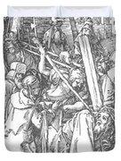 Christ Bearing The Cross 1509 Duvet Cover
