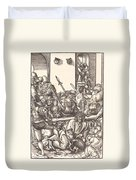 Christ Bearing The Cross Duvet Cover