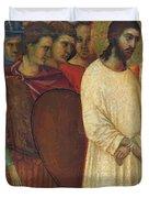 Christ Before Pilate Fragment 1311 Duvet Cover