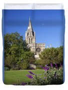 Christ Church Cathedral Oxford University Uk Duvet Cover