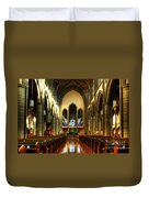 Christ Church Cathedral Victoria Canada Duvet Cover