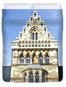 Christ Church College Oxford Architecture Duvet Cover