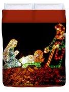 Christ Is Christmas Duvet Cover
