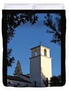 Christ The King Chapel Tower Duvet Cover