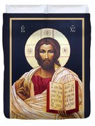 Christ The Teacher Duvet Cover