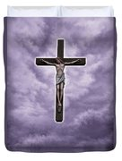 Christ Variations # 2 Duvet Cover