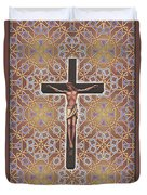 Christ Variations #1 Duvet Cover