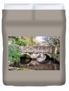 Christchurch - Bridge Over The Millstream Duvet Cover