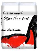 Christian Louboutin Shoes 4 Duvet Cover