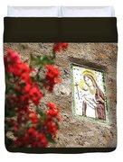 Christian Plaque Duvet Cover