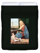 Christianity - Reading Time Duvet Cover